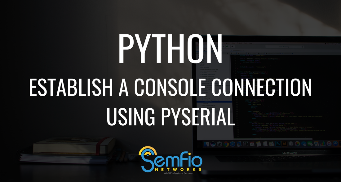 Establish a Console Connection within a Python script with pySerial